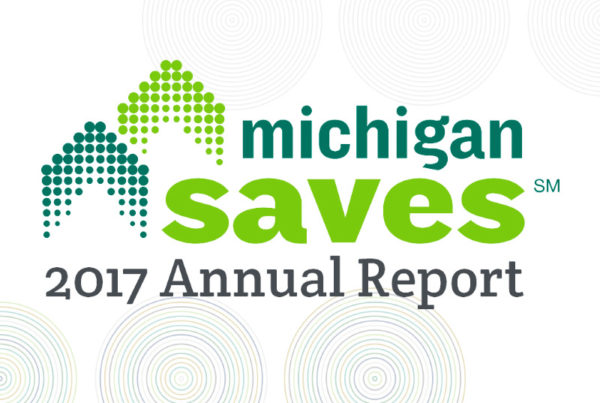 2017 Michigan Saves annual report graphic
